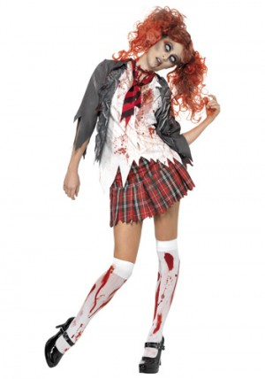 what to wear to a zombie party